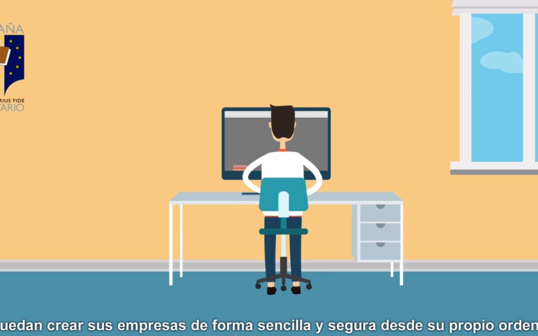 Notarios y Constitución Online de empresas